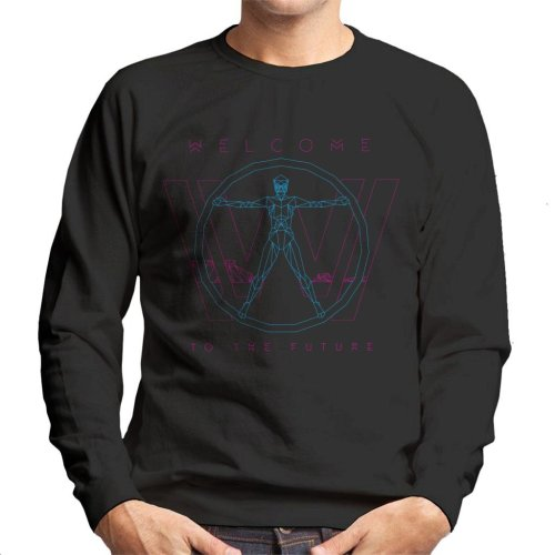 Westworld Welcome To The Future Men's Sweatshirt
