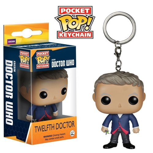 Funko Pop Boxed Vinyl Keyring | Doctor Who - The Twelfth Doctor