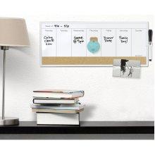 "Dry Erase Weekly Calendar 1/Pkg-7.5""X18"""