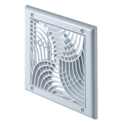 150x150mm Wall Ventilation Grille Cover with Anti Insects Net 100-125mm Diameter