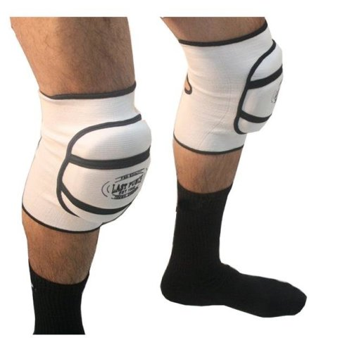 Shelter 9014-M Professional Protective Knee Pads - White, Medium