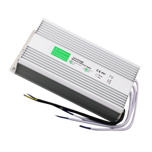 Waterproof DC12V IP67 250W 20.83A LED Driver Power Supply Transformer