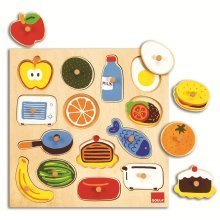 Goula in and out Wooden Puzzle (14 Pieces)
