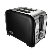 Russell Hobbs Canterbury 2 Slice Toaster Browning Control - Black (Model 22392)