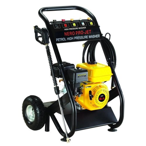 Nero Pro Petrol Power Pressure Jet Washer 2200PSI 6.5HP Engine