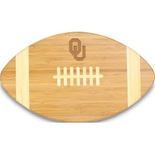 Picnic Time 896-00-505-453-0 University of Oklahoma Sooners Engraved Touchdown Cutting Board, Natural