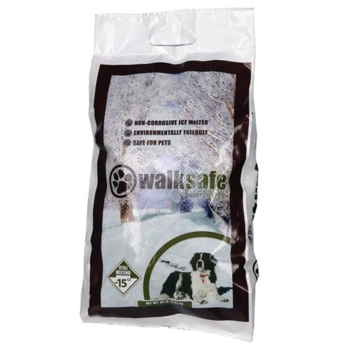Walk Safe for Pets WS20BG 20 lbs Pet Ice Melting Chemicals Bag