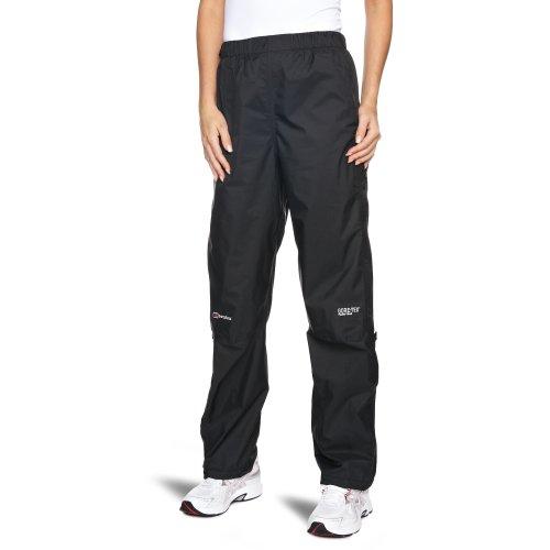 Berghaus Women's Paclite Gore-Tex Waterproof Trousers Short Pants - Black, Size 12 - Leg 29