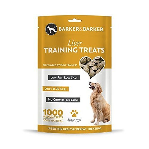 Barker and Barker 1000 Medium Liver Dog Training Treats