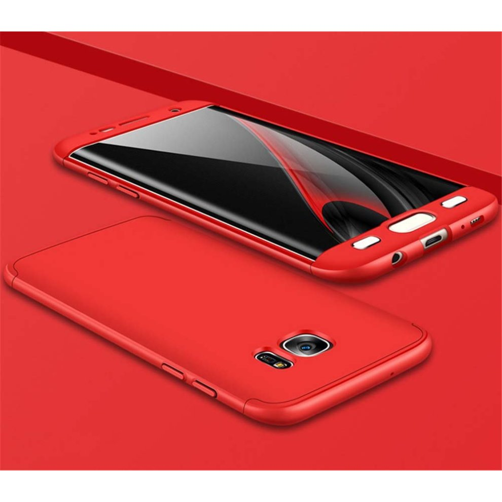 new style ad722 59608 Samsung Galaxy S7 EDGE Case 360 Degree Protection 3 in 1 Slim Cover Adamark  Shockproof Shell Full Body Coverage Protection Protective Case For...
