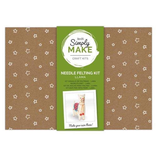 Simply Make Needle Felting Kit - Llama