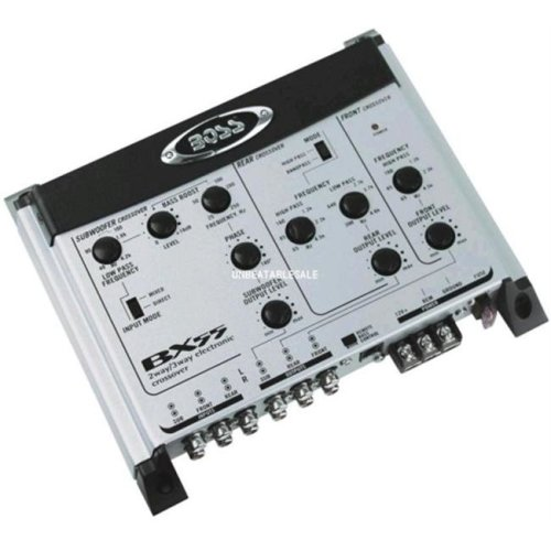 Boss Audio BX55 2/3-Way Electronic Crossover
