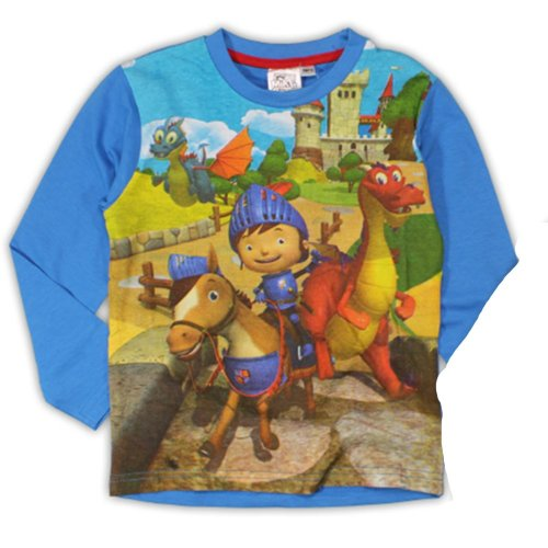 Mike the Knight T Shirt - Blue