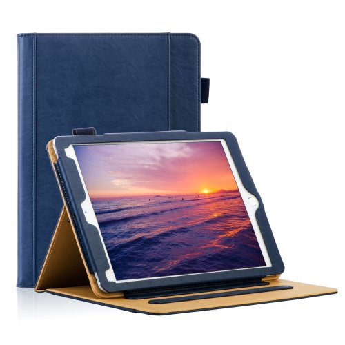 "iPad Case 9.7"" 2017/2018 , Pad Air 2 pro 9.7 case, -Navy"