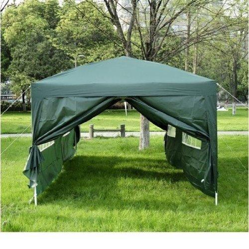 Outsunny 6 X 3 M Garden Heavy Gazebo Tent-green