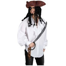White Medieval Pirate Shirt