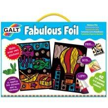 Fabulous Foil Stickers & Picture Kit - Galt Toys -  galt toys fabulous foil