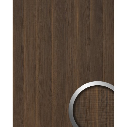 WallFace 19030 NUTWOOD adhesive all panel wood look dark brown 2.6 sqm