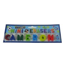 Childrens Mini Erasers - Cameron