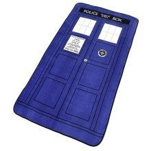Doctor Who TARDIS Throw Blanket Fleece