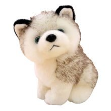Simulation Husky Doll Plush Toy Dog Doll Small Doll Dog Year Mascot