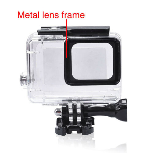 For GoPro Hero 5+6 Black Camera Accessories 45m Diving Waterproof Housing Case