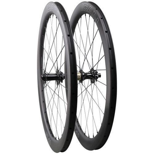 ICAN FL50 Disc Carbon Clincher 6 Bolts Wheels