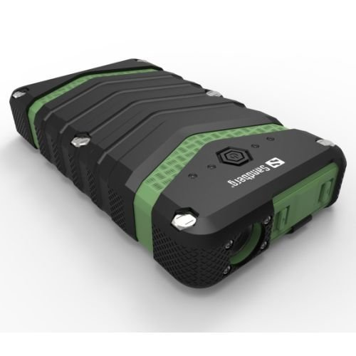 Sandberg (420-36) 20100mAh Survivor Outdoor Power Bank, Dual USB, Dust, Shock & Waterproof, 5 Year Warranty