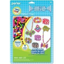 Prl56010 - Perler Beads - Blister Set - Neon Jewelry Activity Kit