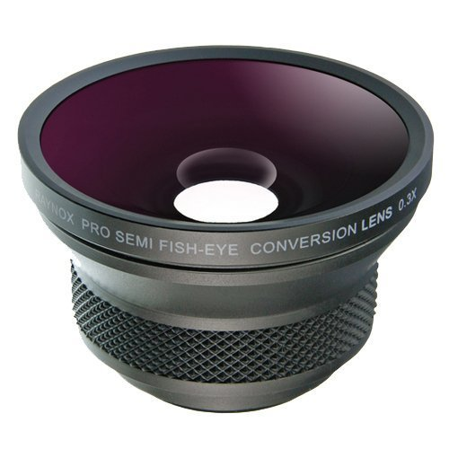 Raynox HD 3035PRO Semi Fisheye Conversion Lens 0 3x 37mm Wide Angle Lens