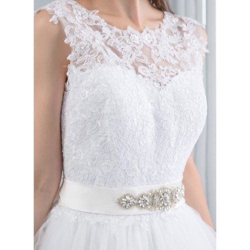 Wedding Dress New Lace Wedding Dresses Satin Backless Wedding Gowns Wedding Bridal Bride Dresses vestidos de noiva