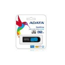 Adata Dashdrive Uv128 128gb 128gb Usb 3.0 (3.1 Gen 1) Type-a Black,blue Usb Flash Drive