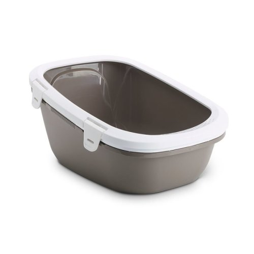 Cat Litter Tray with Sieve Tray Bags Clear Large Breeds Bundle