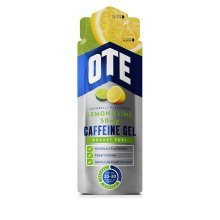50mg Ote Sports Lemon & Lime Caffeine Gel - Energy 20 x 56g End Jan 2018 -  ote caffeine energy gel 50mg 20 x 56g lemon lime end jan 2018