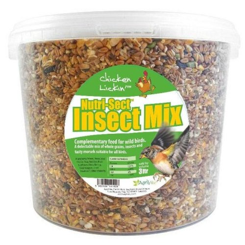 Agrivite Wild Bird Nutri-sect Mix 3ltr (Pack of 4)