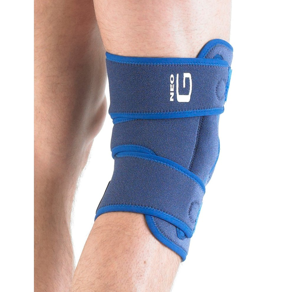 5edf7493e2 ... Neo G Stabilized Hinged Open Knee Support One Size - Blue - 2 ...