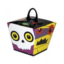 Pack Of 6 Halloween Party Treat Boxes - Amscan International Boo Crew -  amscan international boo crew treat boxes