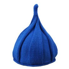 Fashion Winter Baby Kids Warm Hats Crochet Caps Toddler Comfortable Hat Best Gift-Blue