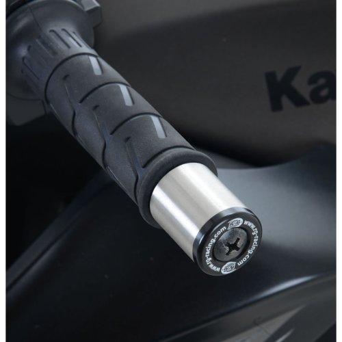 R&G Bar End Sliders for Kawasaki Z125 19-/ ZX250 Ninja 250R 08-12 / Z250 13-18 / Z300 / Z750 / Z750R / Z800 / Z1000 -09 / Ninja 250/300 13-17
