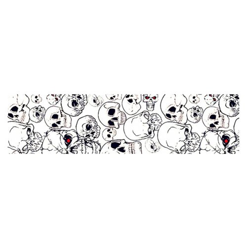 Cool Bike Decorations Fixed Gear Bicycle Sticker For Bicycle Frame - Skull