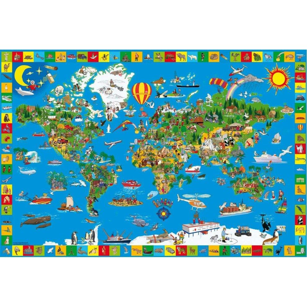 Schmidt Your Amazing World Jigsaw Puzzle (200 Pieces)