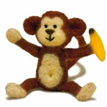 D72-73801 - Dimensions Needle Felt Kit - Monkey