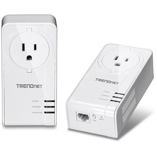 Trendnet TPL-421E2K 1200Mbit/s Ethernet LAN White 2pc(s) PowerLine network adapter
