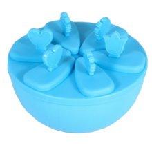 Nontoxic Creative Ice Cube Tray Jelly Tray Mold Ice Maker Accessories, Blue