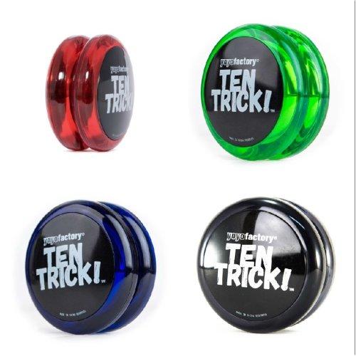 Yo Yo Factory 10 Trick Beginners Yo Yo - One Supplied