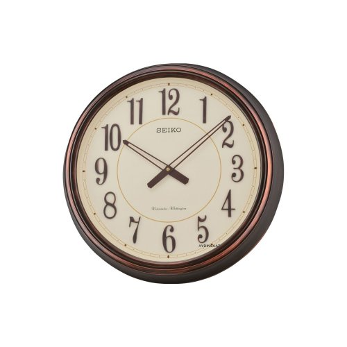 Seiko QXD212B Antique Westminster/Whittington Dual Chimes 3D Wall Clock