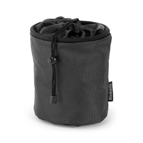 Brabantia Premium Peg Bag - Black | Large Clothes Peg Bag