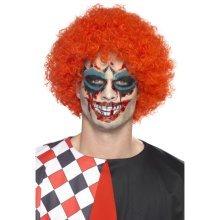 Multi Coloured Twisted Clown Fancy Dress Make Up Kit. - Make Tattoo Transfers -  clown twisted makeup tattoo transfers fancy dress halloween face