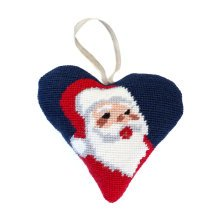 Santa Christmas Decoration Tapestry Kit