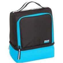 Active 2 Compartment Lunch Coolbag  Turquoise